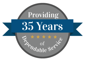 35 Years of Dependable Service